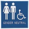 Advantus Gender Neutral ADA Signs