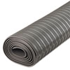 Ribbed Anti-Fatigue Mat, Vinyl, 36 x 120, Gray