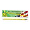 Woodcase Pencil, B #1, Yellow, Dozen