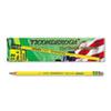 Woodcase Pencil, 2H #4, Yellow, Dozen