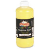 Ready-to-Use Tempera Paint, Yellow, 16 oz