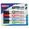 Avery(R) MARK A LOT(R) Desk-Style Dry Erase Marker