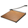 """Square Commercial Grade Wood Base Guillotine Trimmer, 20 Sheets, 30"""" x 30"""""""