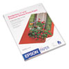 Premium Photo Paper, 68 lbs., High-Gloss, 11 x 14, 20 Sheets/Pack