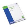 Velvet Fine Art Paper, 8-1/2 x 11, White, 20 Sheets/Pack