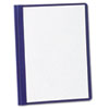 Oxford(TM) Clear Front Linen Report Cover
