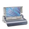 Quasar Comb Binding System, 500 Sheets, 16 7/8 x 15 3/8 x 5 1/8, Metallic Gray