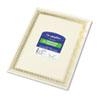 Foil Enhanced Certificates, 8-1/2 x 11, Gold Flourish Border, 12/Pack