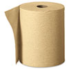 "Nonperforated Paper Towel Rolls, 7.870"" x 625 ft, Brown, 12 Rolls/Carton"