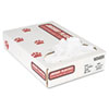 "Industrial Strength Low-Density Commercial Can Liners, 16 gal, 0.5 mil, 24"" x 32"", White, 500/Carton"