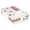 "Industrial Strength Low-Density Commercial Can Liners, 30 gal, 0.9 mil, 30"" x 36"", White, 100/Carton"