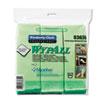 Cloths w/Microban, Microfiber 15 3/4 x 15 3/4, Green, 6/Pack