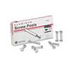 """Post Binder Aluminum Screw Posts, 3/16"""" Diameter, 1"""" Long, 100/Box"""