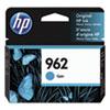 962 Ink Cartridge, Cyan (3HZ96AN)