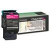 C540A1MG Toner, 1000 Page-Yield, Magenta