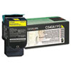 C540A1YG Toner, 1000 Page-Yield, Yellow