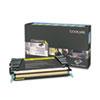 C734A1YG Toner, Return Program, 6000 Page-Yield, Yellow