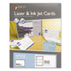 MACO(R) Unruled Microperforated Laser/Ink Jet Index Cards
