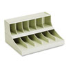 MMF Industries(TM) Combination Coin Wrapper/Currency Band Rack