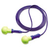 E·A·R Push-Ins Earplugs, Corded, 28NRR, Yellow/Blue, 100 Pairs