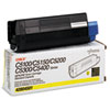 42804501 Toner (Type C6), 3000 Page-Yield, Yellow