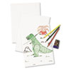 White Drawing Paper, 57 lbs., 18 x 24, Pure White, 500 Sheets/Ream