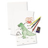 White Drawing Paper, 47 lbs., 9 x 12, Pure White, 500 Sheets/Ream