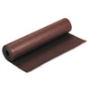 """Rainbow Duo-Finish Colored Kraft Paper, 35 lbs., 36"""" x 1000 ft, Brown"""