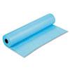 "Rainbow Duo-Finish Colored Kraft Paper, 35 lbs., 36"" x 1000 ft, Sky Blue"