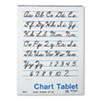Chart Tablets, Unruled, 24 x 32, White, 25 Sheets