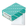 Open Side Booklet Envelope, Contemporary, 9 x 6, White, 100/Box