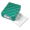 Open Side Booklet Envelope, Contemporary, 13 x 10, White, 100/Box