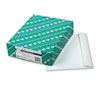 Open Side Booklet Envelope, Contemporary, 12 x 9, White, 100/Box