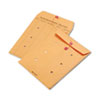 Brown Kraft Kraft String & Button Interoffice Envelope, 9 x 12, 100/Carton