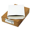 """9 x 11 1/2"""" Photo Document Mailers, Self Seal Closure, 26 PT Recycled White Fiberboard, 25/BX"""