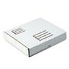 Ring Binder Mailer/Shipping Boxes, 12l x 10 1/2d x 2 1/8h, White