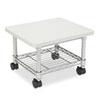 Underdesk Printer/Fax Stand, One-Shelf, 19w x 16d x 13-1/2h, Gray