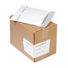 Jiffy TuffGard Self-Seal Cushioned Mailer, #0, 6 x 10, White, 25/Carton