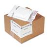 Jiffy TuffGard Self-Seal Cushioned Mailer, Side Seam, #000, 4x8, WE, 25/Carton