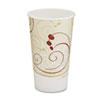 Hot Cups, Symphony Design, 16oz, Beige, 1000/Carton