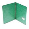 "Presstex Report Cover, Prong Clip, Letter, 3"" Capacity, Dark Green"