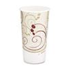 Hot Cups, Symphony Design, 20oz, Beige, 600/Carton