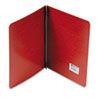 """Presstex Report Cover, Prong Clip, Letter, 3"""" Capacity, Red"""