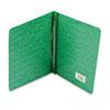 "Pressboard Report Cover, Prong Clip, Letter, 3"" Capacity, Dark Green"