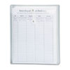 Poly String & Button Envelope, 9 3/4 x 11 5/8 x 1 1/4, Clear, 5/Pack