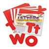 "Ready Letters Casual Combo Set, Red, 4""h, 182/Set"