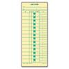 Job Card for Cincinnati/Lathem/Simplex, 1 Side, 3 1/2 x 9, 500/Box