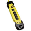 TLM609GF Safety Power Strip 6 Outlets, 9 ft Cord w/GFCI Plug