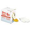 Multipurpose Reusable Wiping Cloths, Cotton, White, 5lb Box