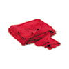 Red Shop Towels, Cloth, 14 x 15, 50/Pack